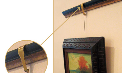 Traditional Picture Rail System