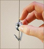 Slimline Push-Button Hook